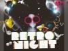 Retro Night Party Template - Black BG