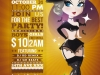 Pinup Halloween Night Flyer Template