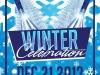 Winter Celebration Flyer Template
