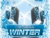 Winter Cold Sensation Nightclub Flyer