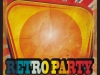 Retro Minimal Party Flyer