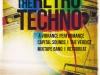 The Retro Techno Music Flyer