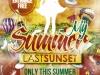 My Summer Vol.6 Flyer Template