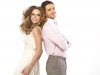 Fabulous young couple in romantic pose